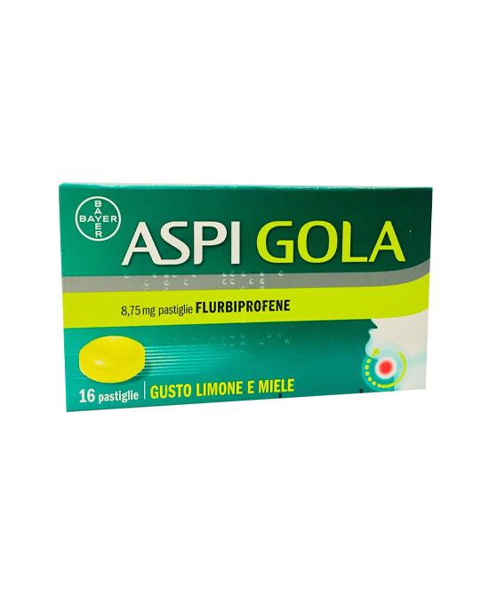 ASPI GOLA 16 PASTIGLIE LIMONE E  MIELE - La tua farmacia online