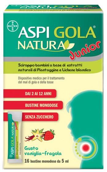 ASPI GOLA NATURA JUNIOR 16 BUSTINE MONODOSE DA 5 ML - Farmacia Centrale Dr. Monteleone Adriano