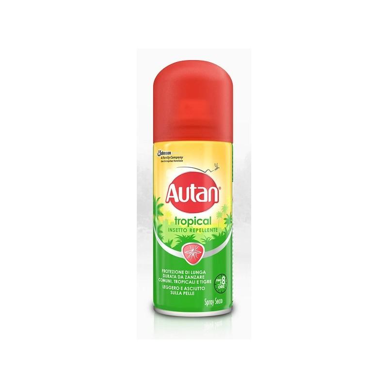 Autan Tropical Spray Secco 100ml - Sempredisponibile.it
