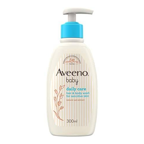AVEENO BABY BAGNETTO TESTA PIEDI 300 ML - Farmafamily.it