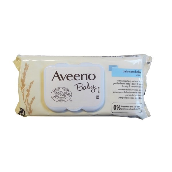 AVEENO BABY SALVIETTINE 72 PEZZI - Farmafamily.it