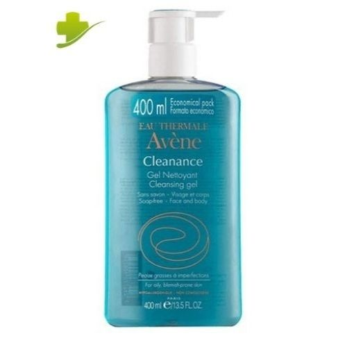 Avene Cleanance Gel Detergente 400 ml + Acqua Termale Avène 50 ml IN OMAGGIO - Farmastar.it