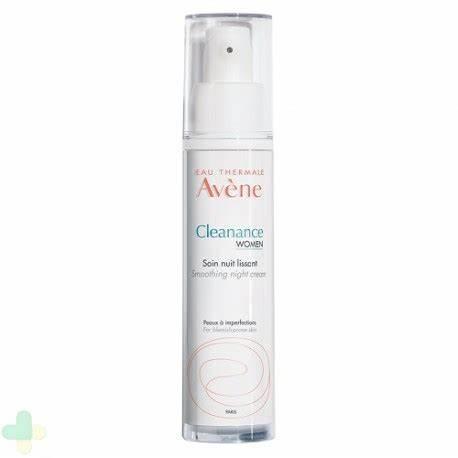 AVENE CLEANANCE WOMEN TRATTAMENTO NOTTE LEVIGANTE 30 ML - Farmaunclick.it