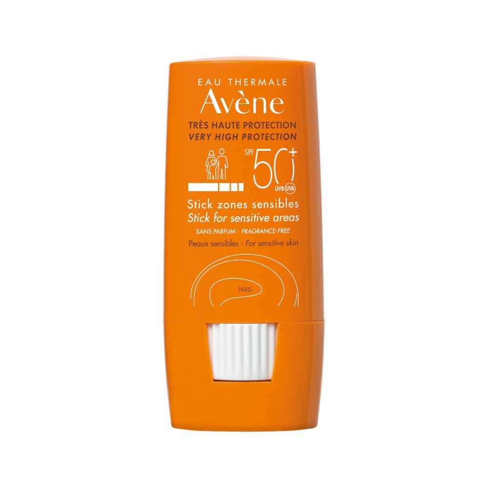 AVENE EAU THERMALE SOLARE STICK LABBRA LARGE ZONE SENSIBILI 50+ - Farmastar.it