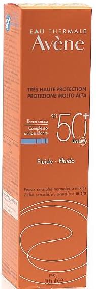 AVENE SOLARE FLUIDO SPF 50+ 50 ML - Farmacia Centrale Dr. Monteleone Adriano