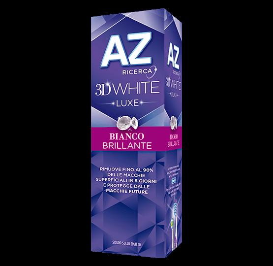 AZ DENT 3D WHITE LUXE BIANCO BRILLANTE 75 ML - Farmaciasconti.it