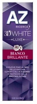 AZ DENT 3D WHITE LUXE BIANCO BRILLANTE 75 ML - Farmacia33
