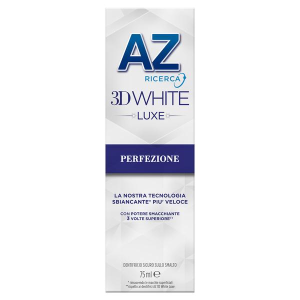 AZ DENT 3D WHITE LUXE BIANCO BRILLANTE 75 ML - Farmapc.it