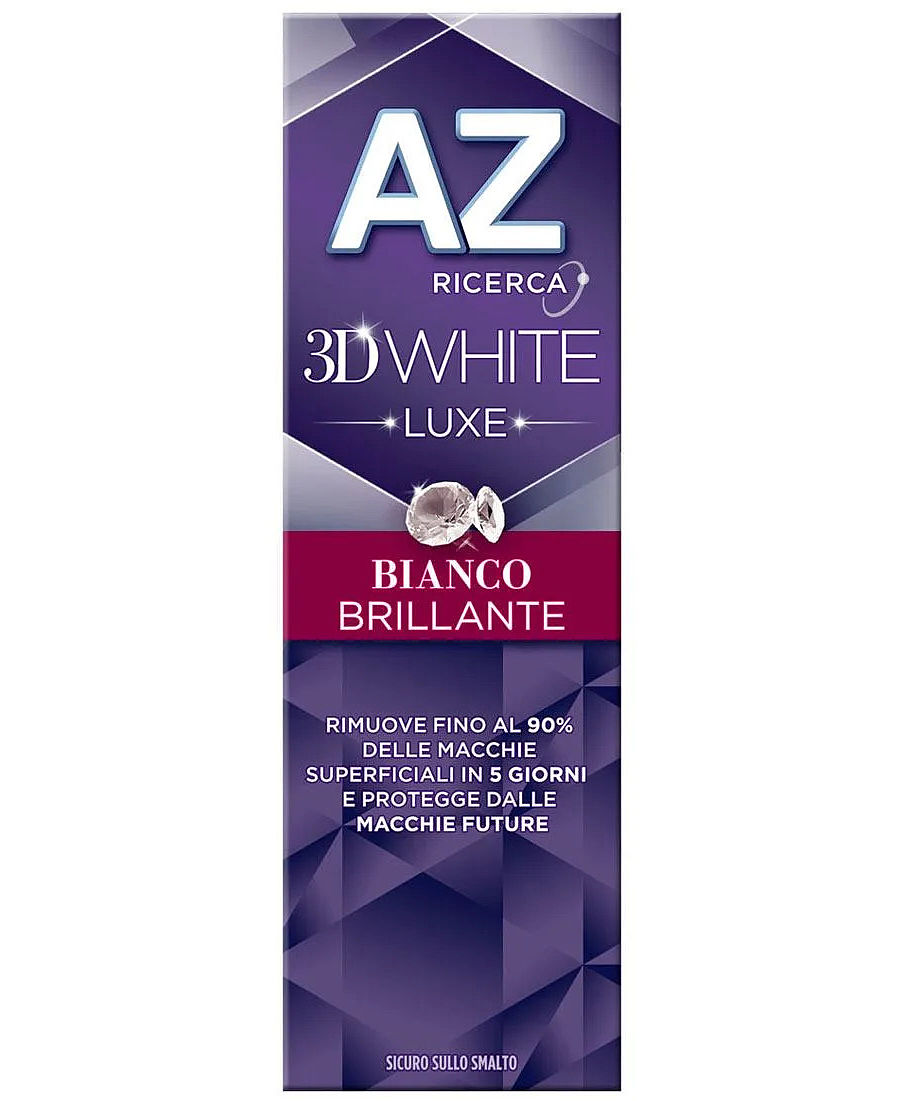 AZ DENT 3D WHITE LUXE BIANCO BRILLANTE 75 ML - Farmaci.me
