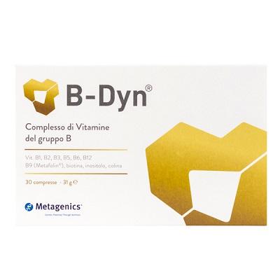 B-Dyn Integratore per la stanchezza Metagenics 30 Compresse - Farmastar.it