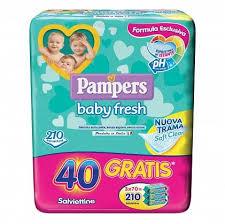 PAMPERS BABY FRESH FORMULA ESCLUSIVA 210 PEZZI - FarmaHub.it