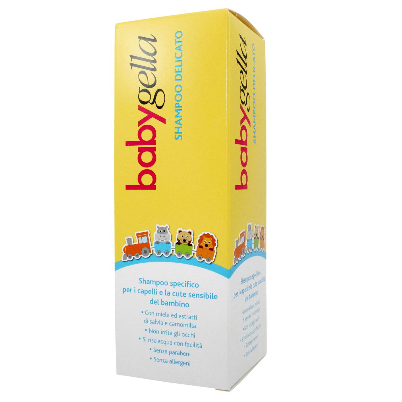 BABYGELLA SHAMPOO DELICATO FLACONE 250 ML - Farmacia33