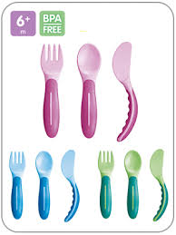 MAM BABY'S CUTLERY SET POSATE - Farmawing