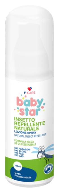 BABYSTAR NATURE PROTEZIONE INSETTOREPELLENTE SPRAY 100 ML - Farmacia Centrale Dr. Monteleone Adriano