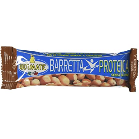 ULTIMATE BARRETTA PROTEICA NOCCIOLA 40 G  - Farmaconvenienza.it