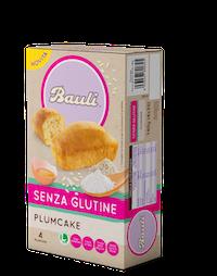 Bauli Plumcake senza Glutine 4 x 35g - Arcafarma.it