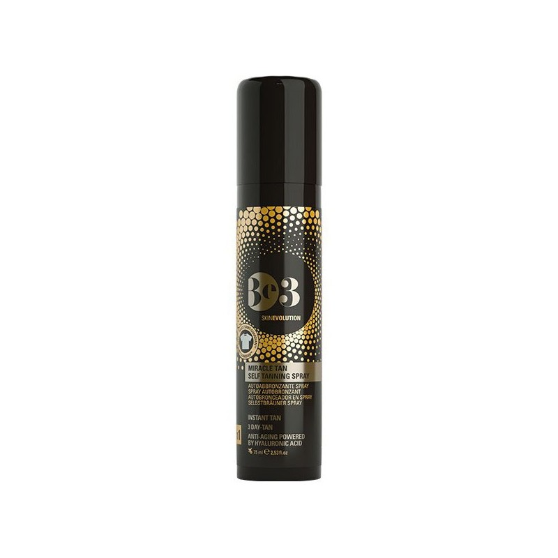Be3 Miracle Tan Autoabbronzante Spray 75ml - Arcafarma.it
