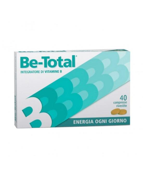 BeTotal Integratore Di Vitamine 40 Compresse Promo - Farmafamily.it
