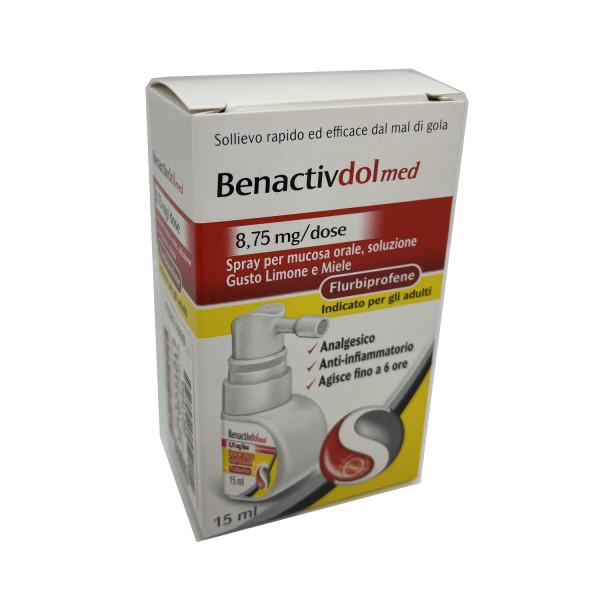 Benactivdol Med Spray 15ml - Arcafarma.it