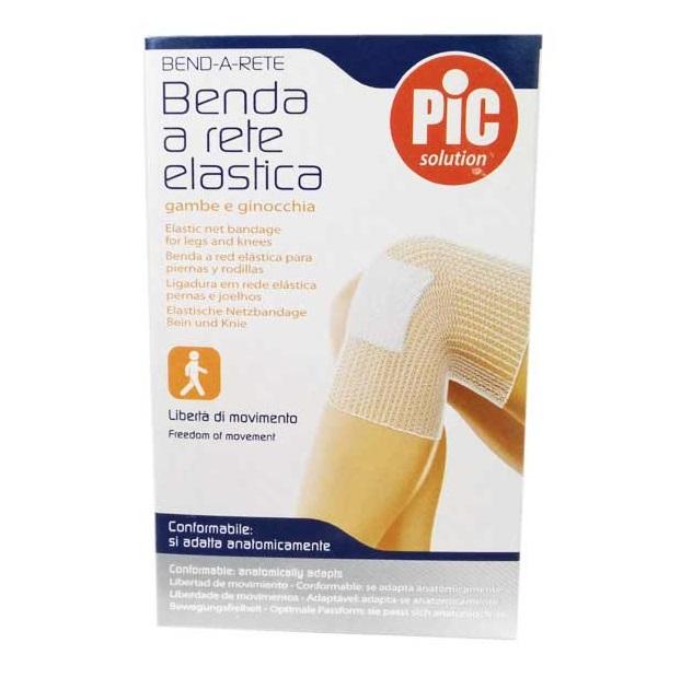 BENDA A RETE TUBOLARE PIC CALIBRO 4 GAMBA/GINOCCHIO 3M - Farmafamily.it