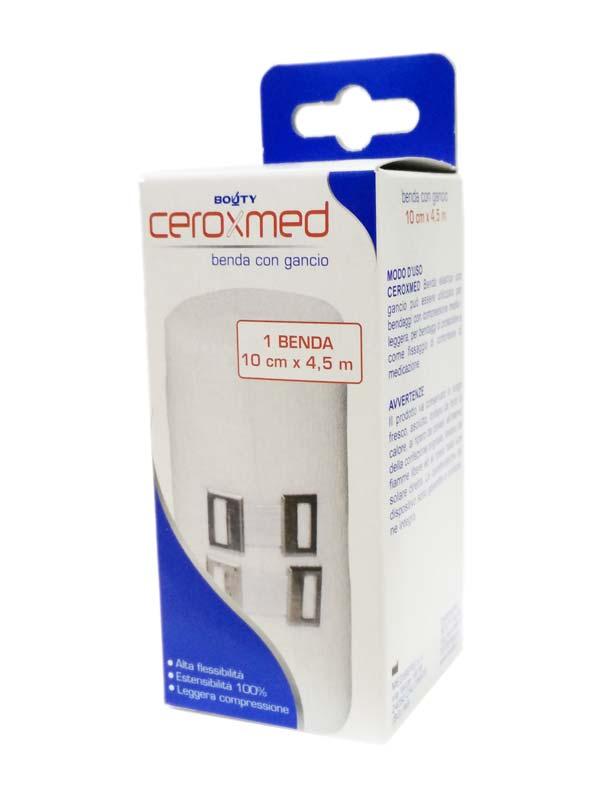 CEROXMED BENDA ELASTICA 10X4,5 CM CON GANCIO - Farmapage.it
