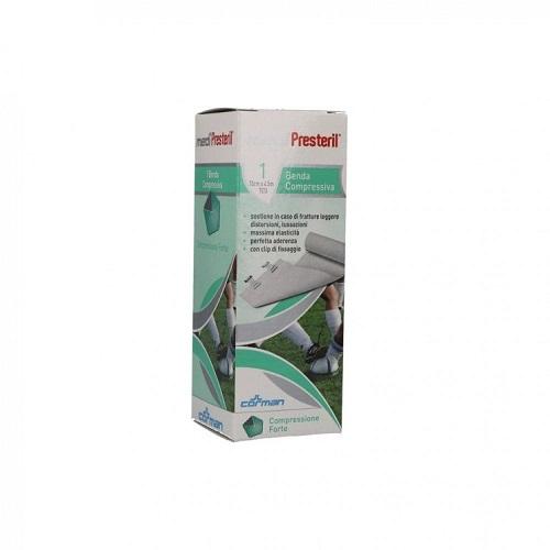 BENDA ELASTICA MEDIPRESTERIL COMPRESSIONE FORTE 10X450CM - Farmaconvenienza.it