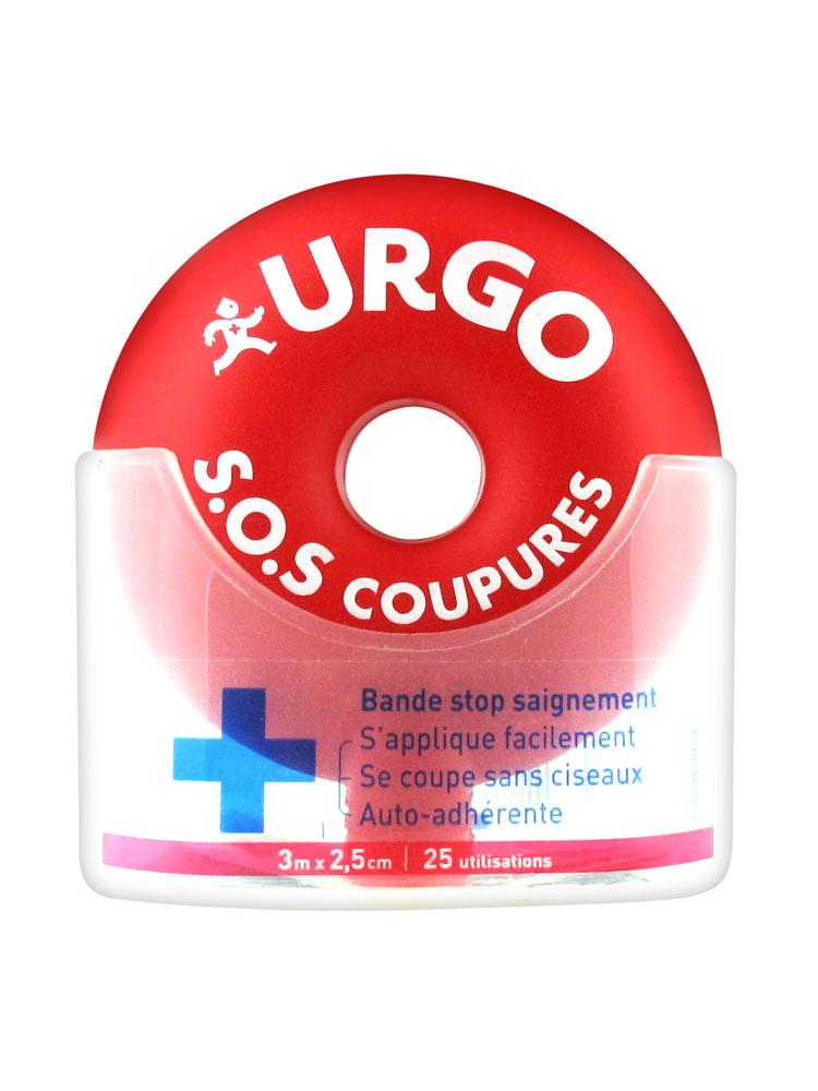 BENDA URGO SOS CUT 3 x 2,5CM - pharmaluna
