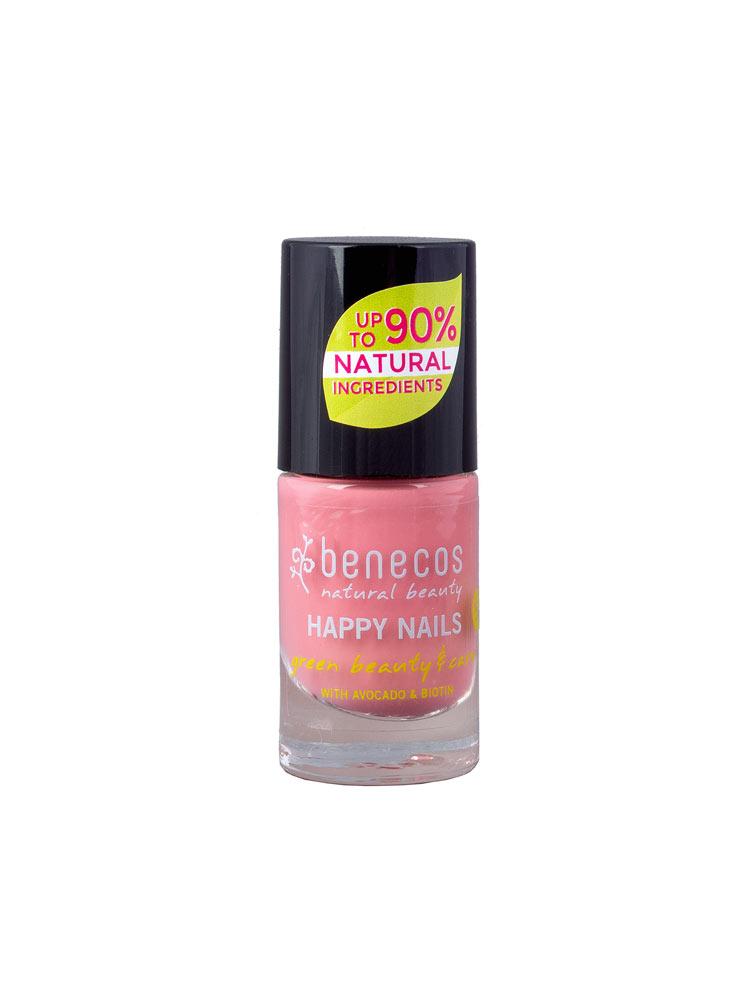 Benecos  Happy Nails Smalto  Bubble Gum - Iltuobenessereonline.it