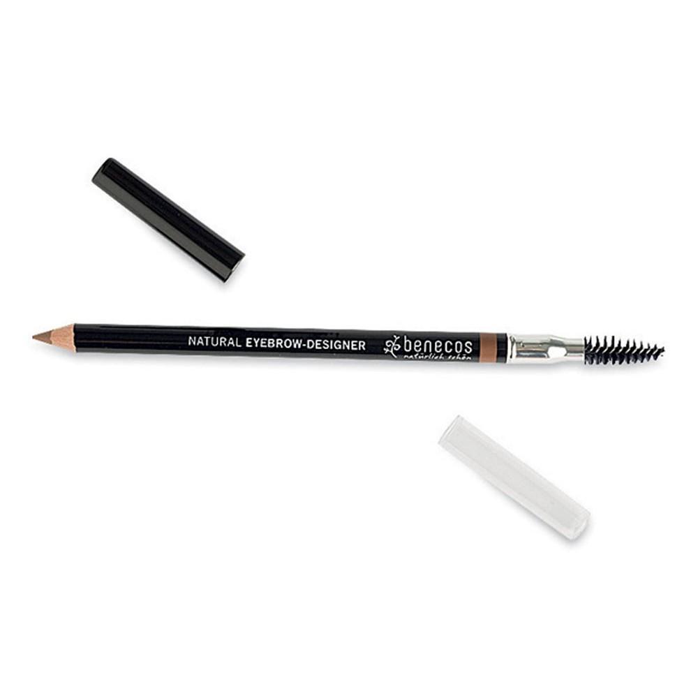 Benecos  Eyebrow-Designer - Matita Sopracciglia Gentle Brown - Iltuobenessereonline.it