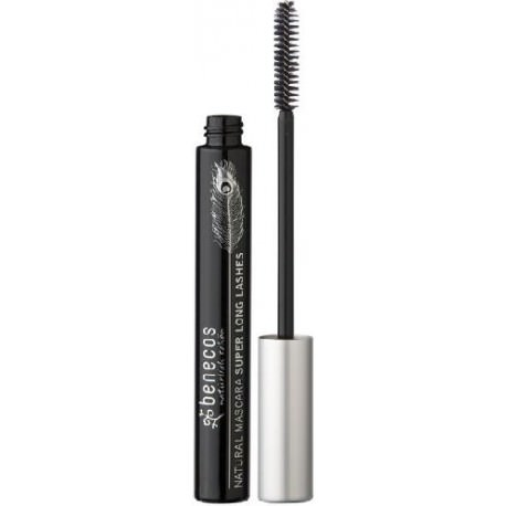 Benecos Natural Mascara Maximum Length Carbon Black - Iltuobenessereonline.it