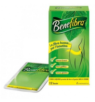 BENEFIBRA LIQUIDA 12 BUSTE X 60 ML - Farmastar.it