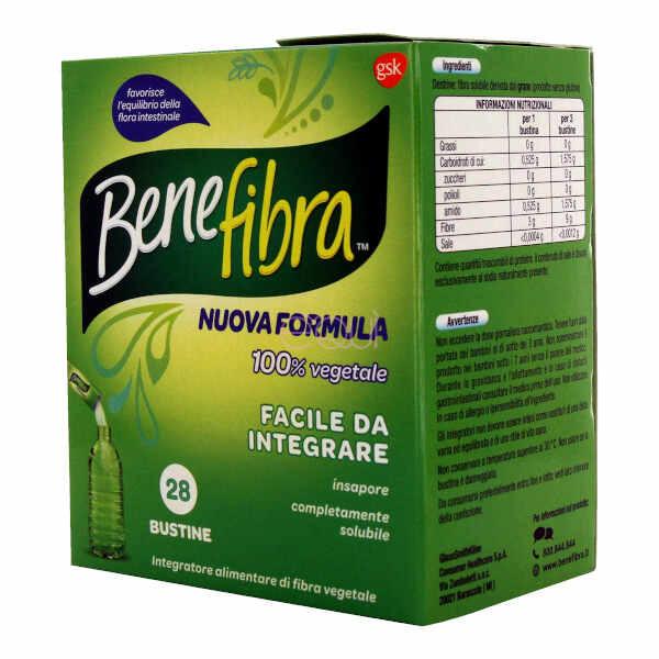 Benefibra Polvere 28bust 3,5g - Farmafamily.it