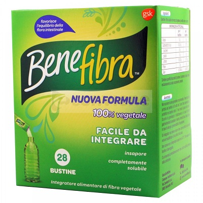 BENEFIBRA POLVERE 28 BUSTINE 3,5 G - Speedyfarma.it