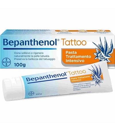 BEPANTHENOL TATTOO PASTA TRATTAMENTO INTENSIVO 100 G - Farmaconvenienza.it