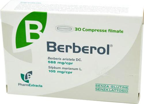 BERBEROL 30 COMPRESSE - Farmacia Centrale Dr. Monteleone Adriano