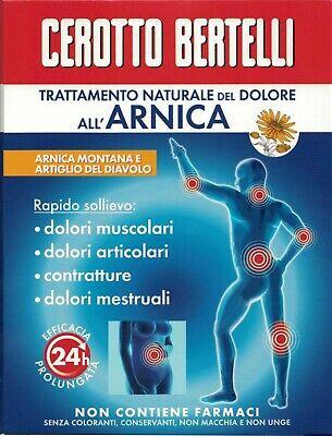 CEROTTO BERTELLI ARNICA 5 PEZZI - Nowfarma.it