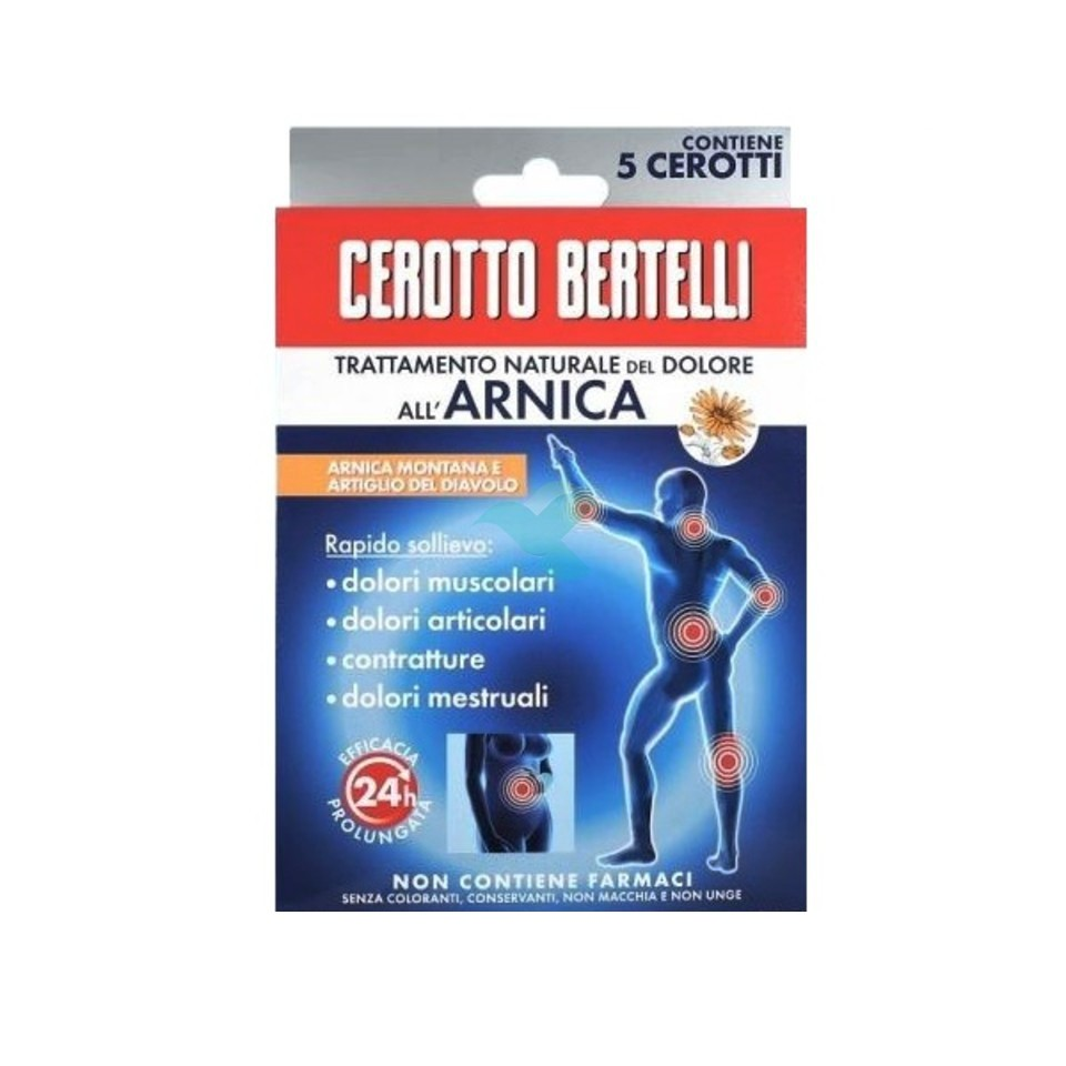 Cerotto Bertelli Arnikos 5 pezzi - latuafarmaciaonline.it
