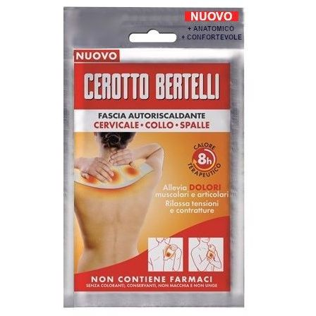 BERTELLI FASCIA AUTORISCALDANTE 4 CELLE 1 PEZZO - Farmafamily.it