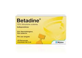 BETADINE*SOL CUT 10FL 5ML 10% - Farmabaleno