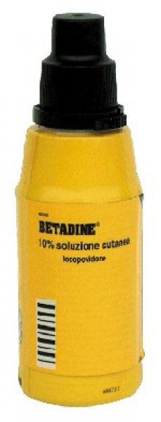 BETADINE*SOLUZ CUT 125ML 10% - Farmacia Centrale Dr. Monteleone Adriano
