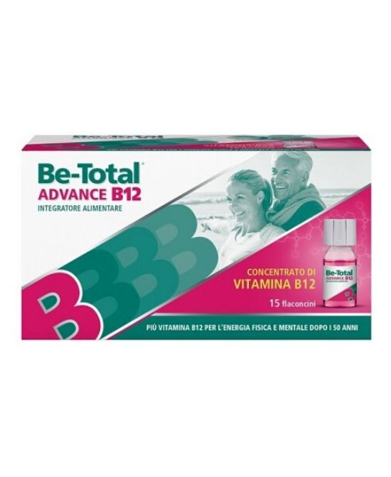 BE-TOTAL ADVANCE B12 - 15 flaconcini - Farmapage.it