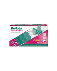 BE-TOTAL ADVANCE B12 15 FLACONCINI - Farmastar.it