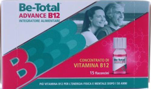 BETOTAL ADVANCE B12 15 FLACONCINI - Farmacia Centrale Dr. Monteleone Adriano