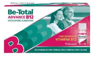 BETOTAL ADVANCE B12 15 FLACONCINI - Farmaciacarpediem.it
