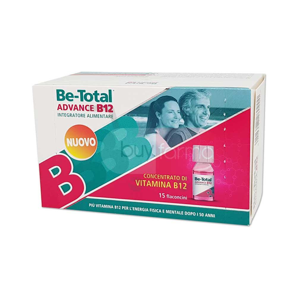 BETOTAL ADVANCE B12 15 FLACONCINI - farmalaura.it