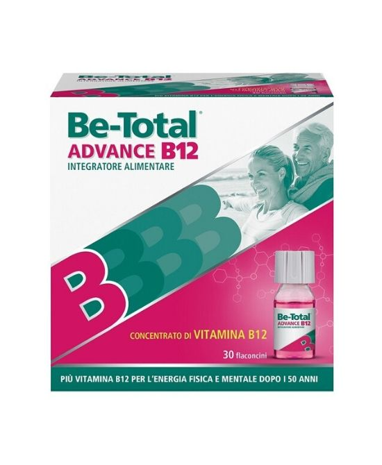 BE-TOTAL ADVANCE B12 - 30 flaconcini - Farmapage.it