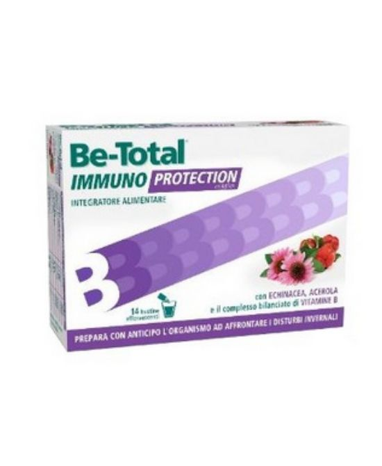 BE-TOTAL IMMUNO PROTECT 14 BUSTINE - Farmapage.it