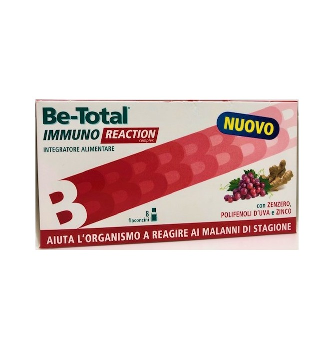 BETOTAL IMMUNO REACTION 8 FLACONCINI - Farmafamily.it