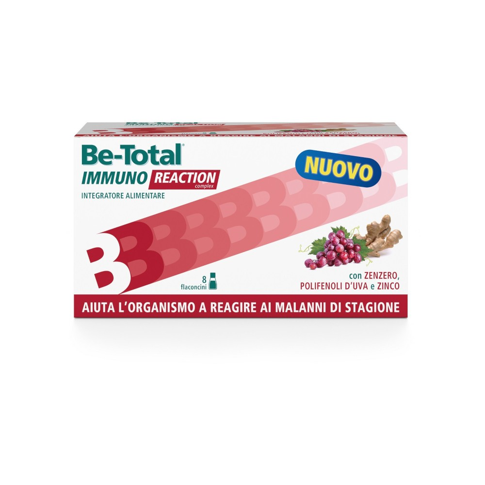 Betotal Immuno Reaction 8 Flaconcini - Arcafarma.it