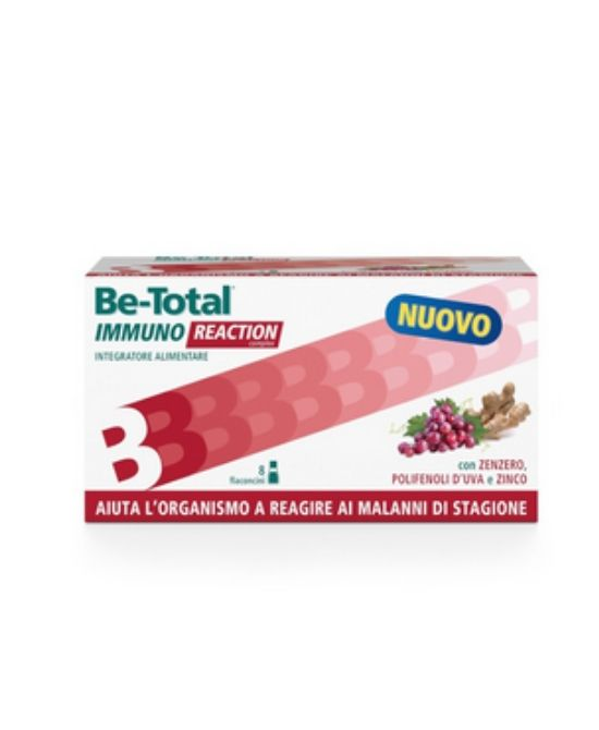 BE-TOTAL IMMUNO REACTION 8 FLACONCINI - Farmapage.it